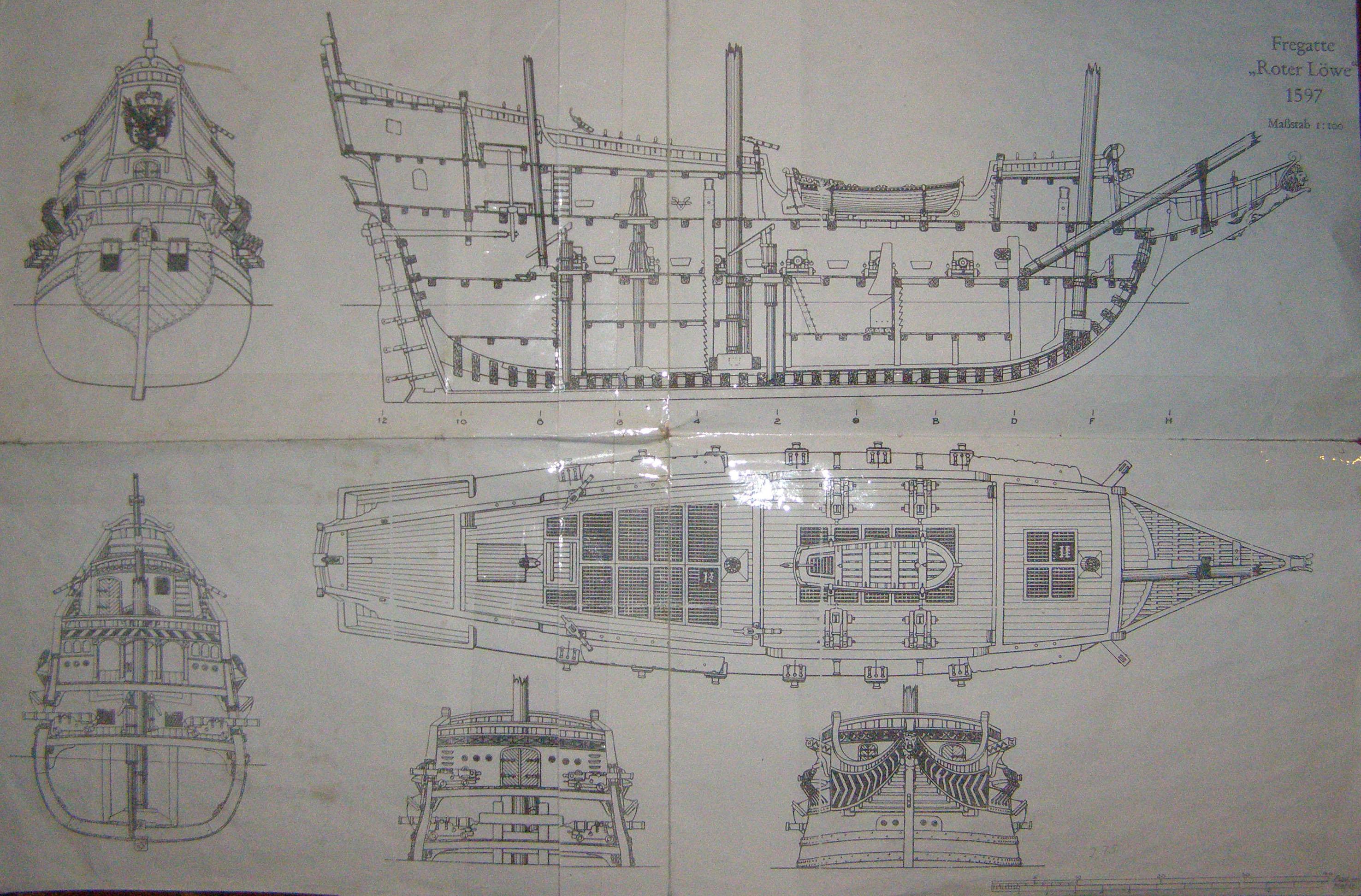 Модели парусных кораблей чертежи своими руками